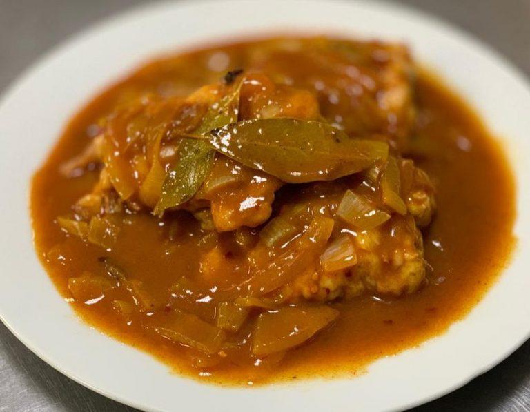 Bo-Kaap inspired Cape Malay pickled Kingklip