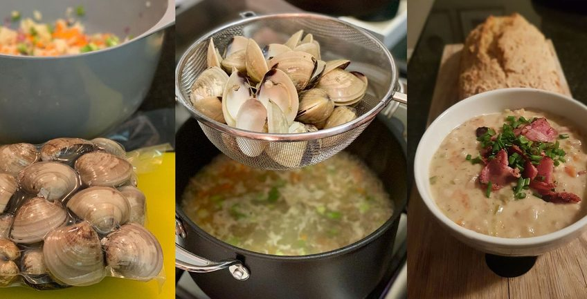 Seafood chowder, The best seafood chowder recipe in Cape Town