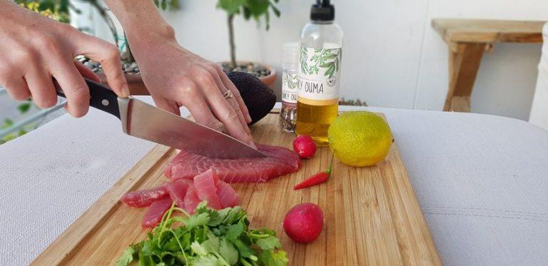 Tuna Ceviche – Cape Fish style