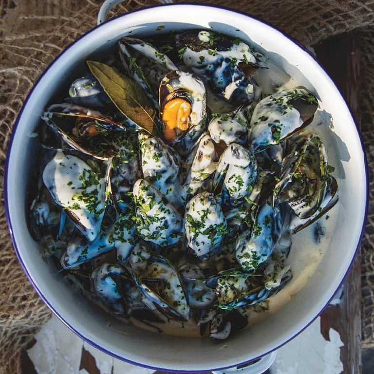 Denise Cowburn-Levy's Cape West Coast creamy mussel pot