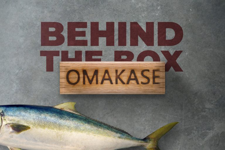 Omakase boxes on offer at Cape Fish