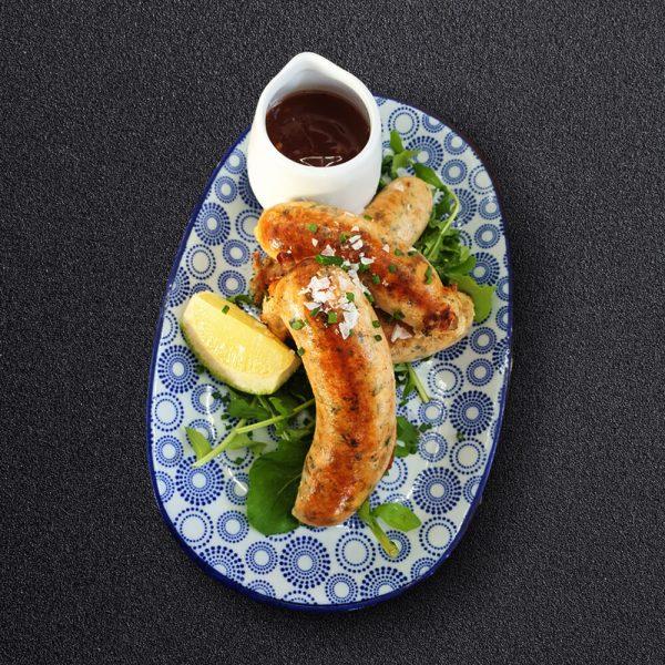 Salmon Sausages
