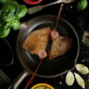 Big Eye Tuna Steak